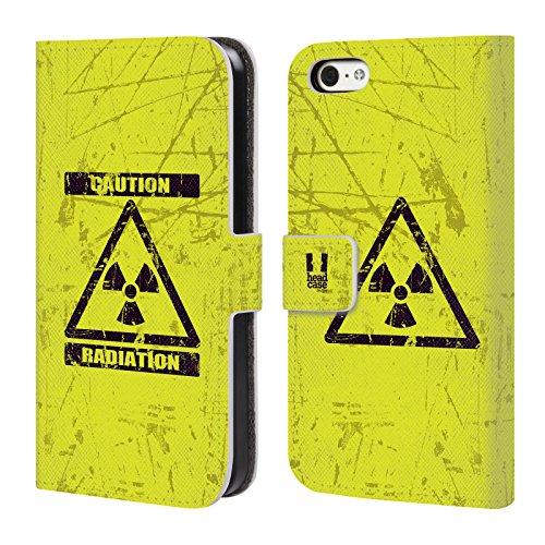 Head Case Designs Modèle De Coccinelle Designs Assortis Étui Coque De Livre En Cuir Pour Apple iPhone 6 / 6s Radiation