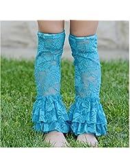 Distinct® 0-3 ans bébé filles dentelle jambières mince Toddler Leggings chaussettes d'été