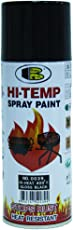 Bosny Hi-Heat Resistant 400°F Aerosol Spray Paint (400 Ml, Gloss Black)
