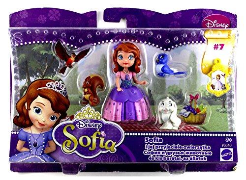 Mattel Sofia die Erste Sofia & Tierfreunde