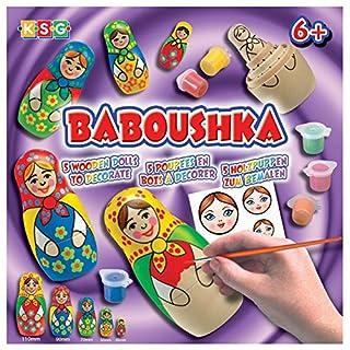 KSG Arts and Crafts Baboushka 0925 Russian Doll Painting Kit