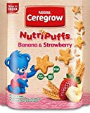 #9: Nestle Ceregrow NutriPuffs - 50 g (Banana and Strawberry)