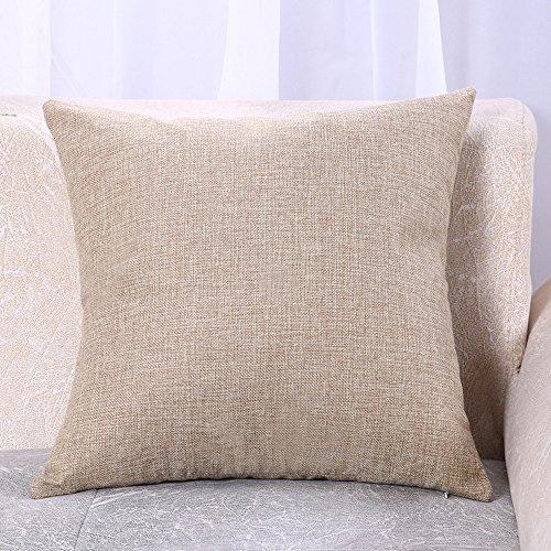 2-er Set Weicher solide Dekorativ Kissenhuelle Platz Kissenbezug Kissen Case Kissenbezüge für Sofa Home Decor 18 * 18 Zoll