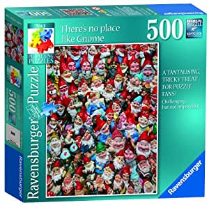 Ravensburger Perplexing There's No Place Like Gnome Puzzle (500 Pieces)
