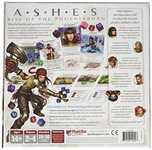 Plaid Hat Games Ashes Rise Of The Phoenix Born Board Game