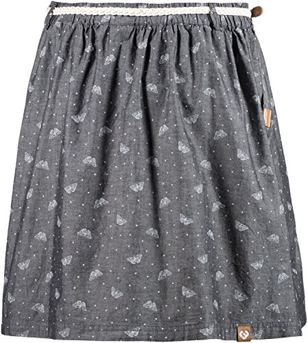 Ragwear Jupe plissée gris