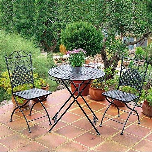 Gärtner Pötschke Sitzgruppe Marrakesch (2 Stühle + Tisch)