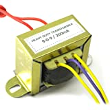 A P Electronics to 9-0-9 Volt,Current 500mA Center Tap Step Down Transformer (9-0-9 500mA)