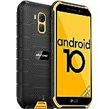 4G Móvil Resistente, Ulefone Armor X7 Android 10 Dual SIM Telefono Movil Antigolpes, IP68/69K Impermeable Smartphone, Cámara