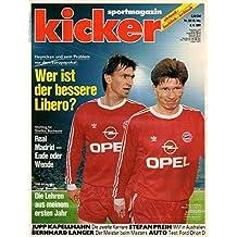 Kicker Sportmagazin Nr. 28/1991 08.04.1991 Wer ist der bessere Libero?