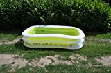 INTEX Swimming Pool Family Swim Center 262 x 175 cm, Grün -