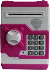 Security Hut Guard theft piggy bank for Coin/Note Safe(3+Ages)- Colors and design may vary