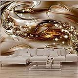 murando - Fototapete Abstrakt 400x280 cm - Vlies Tapete - Moderne Wanddeko - Design Tapete - Wandtapete - Wand Dekoration - Diamant a-A-0168-a-b