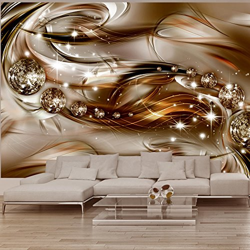 murando - Fototapete Abstrakt 350x256 cm - Vlies Tapete - Moderne Wanddeko - Design Tapete - Wandtapete - Wand Dekoration - Diamant a-A-0168-a-b