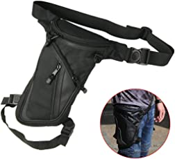 Fansport Leg Bag Multifunctional Adjustable Thigh Pack Thigh Bag for Hiking Cycling
