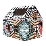 Casagami Maxo–Haus Karton zu montieren–Beleuchtung Solar LED–Nachhaltige Entwicklung–Fab. Frankreich