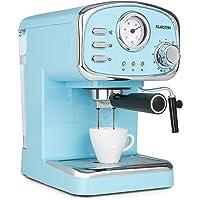 Klarstein Espressionata Gusto - Espresso Machine, 1100 Watts, 15 Bar Pressure, Volume of Water Tank: 1 Litre, Removable…