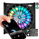 Dartprofi Global online Dartboard LED H2L VDarts mit Bluetooth / App-Funktion