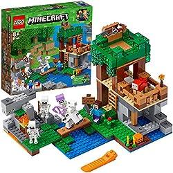Lego Minecraft L'attacco dello Scheletro,, 21146