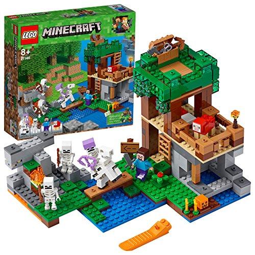 LEGO Minecraft - El Ataque de los Esqueletos 21146