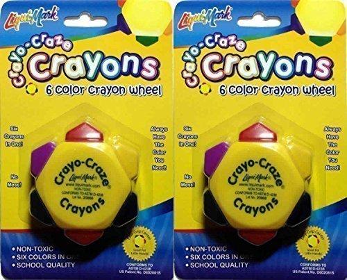 crayo-craze-crayons-6-color-crayon-wheel-pack-of-4-by-liqui-mark