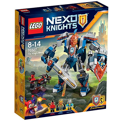 Lego - Nexo Knights 70327 - The King's Mech, Set di 3 figurine mini