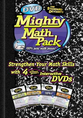 The Standard Deviants - DVD Mighty Math Pack [Import USA
