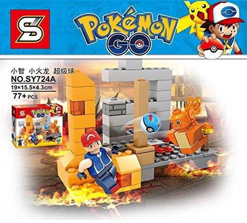 Pokemon Baustein-Set SY724A (Legos Pokemon)