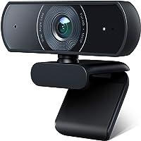 Victure 1080P Webcam mit Mikrofon, USB Videokamera Plug & Play für PC, Laptop, Computer, Streamcam mit automatischer…