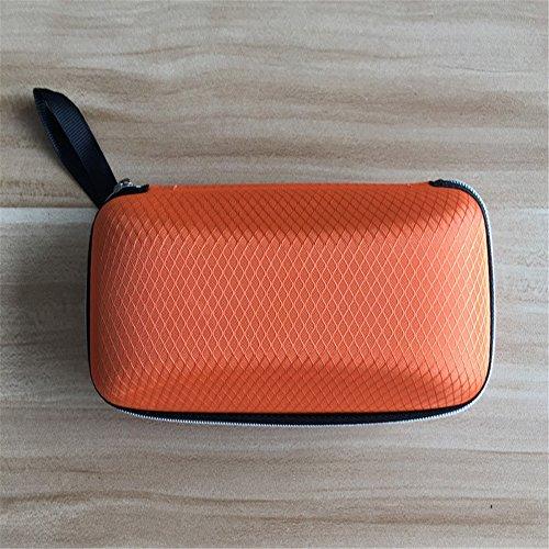 Youmei® Druck Befestigermagazin Gläsern Orange