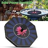 Springbrunnen Solar-Wasserpumpe,Solar Power Brunnen, Garten Garten Landschaft Garten Teich Bewässerung Kit,Schwimmbecken-Pool
