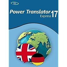 Power Translator 17 Express Deutsch-Englisch: Der komfortable Übersetzer für den Desktop! Windows 10|8|7 [Online Code]