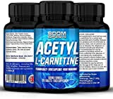 Acetyl L-Carnitine 500mg | Strong Acetyl-Carnitine Capsules | Powerful Nootropics | 120 Powerful Energy Boosting Capsules | FULL 4 Month Supply | Improve Athletic Performance | Enhance Cognitive Function | Safe And Effective | Best Selling L-Carnitine Pills | Manufactured In The UK!