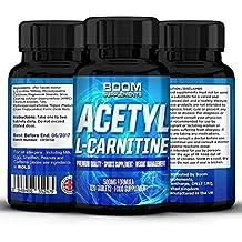 Acetil L Carnitina 500 mg | Cápsulas Fortes de acétyl l-carnitina | 120 Cápsulas potente de fortalecimiento energética | approvisionnement completo de 4 meses | améliorer la performance Athlétique | améliorer la función Cognitive | sûr y eficaz