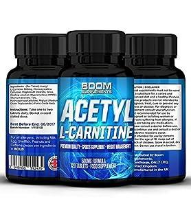 Acetil L Carnitina 500 mg | Cápsulas Fortes de acétyl l-carnitina | 120 Cápsulas potente de fortalecimiento energética | approvisionnement completo de 4 meses | améliorer la performance Athlétique | améliorer la función Cognitive | sûr y eficaz | fabricado en el Reino Unido
