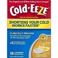 Cold-eeze Cold Remedy Lozenges Honey Lemon - 18 Lozenges preisvergleich bei billige-tabletten.eu