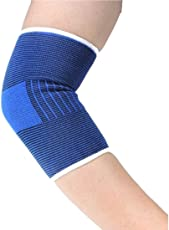 Param Elbow Support 2 Pcs Elbow Pad Sports Elbow Protector for Football Basketball Badminton