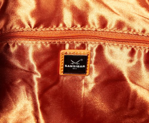 Sansibar Rio B-426 RI 66, Damen Schultertaschen 28x30x5 cm (B x H x T) Orange (pumpkin)