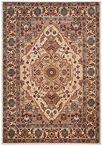 Rizzy Home BLVBV320600377007 Bellevue Collection Designs Area Rug, 7' 10