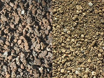 Der Naturstein Garten 400 kg Substrat zur Dachbegrünung - Sorte 1 Lava Bims - Gründach Begrünung - Lieferung KOSTENLOS