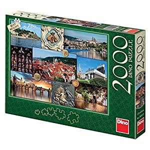 Dino Toys 561120 - Puzle Vista de Praga