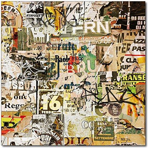 Stickersnews - Sticker boites aux lettres déco Papier 30x30cm