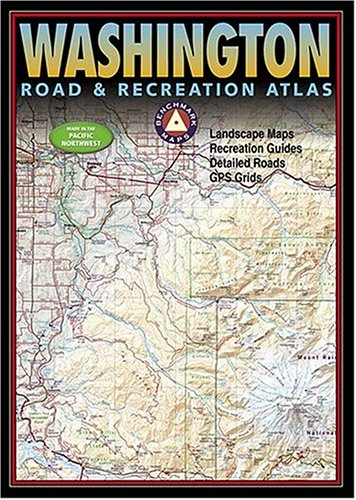 Benchmark Washington Road & Recreation Atlas (Benchmark Map: New Mexico Road & Recreation Atlas)