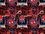 Camelot Stoffe Marvel Amazing Spider Man Popeline Quilting