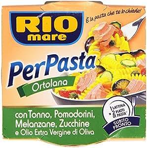 Rio Mare - Per Pasta Ortolana, Con Tonno, Pomodorini, Melanzane, Zucchine E Olio Extra Vergine Di Oliva - 160 G