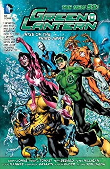 Green Lantern: Rise of the Third Army by [Johns, Geoff, Peter J. Tomasi]