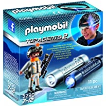 Playmobil - Linterna de espionaje con agente secreto (5290)