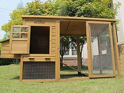 Chicken Coops Imperial - Hühnerstall Wentworth - für bis zu 4 Hühner - innovative Verriegelung von Imperial Poultry - Du und dein Garten