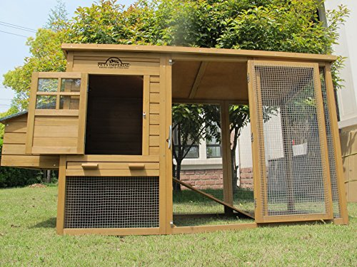 Pets Imperial® Devonshire Large Chicken Coop Hen House Ark Poultry Run Nest Rabbit Hutch Box Suitable For Up To 4 Birds – Integrated Run & Cleaning Tray & Innovative Locking Mechanism - 2