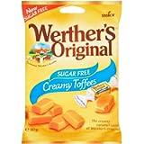 Werther's Original Sugar Free Toffee, 80 g
